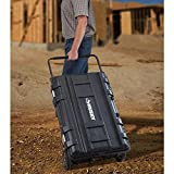 husky tool box with wheels - Husky 25 gal. Mobile Utility Work Cart for Tool Storage, Black