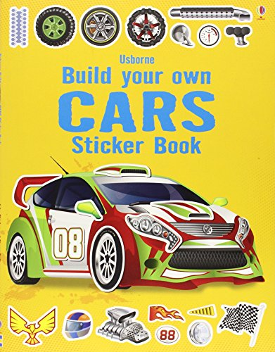 Build Your Own Cars Sticker Book (Build your own sticker books)
