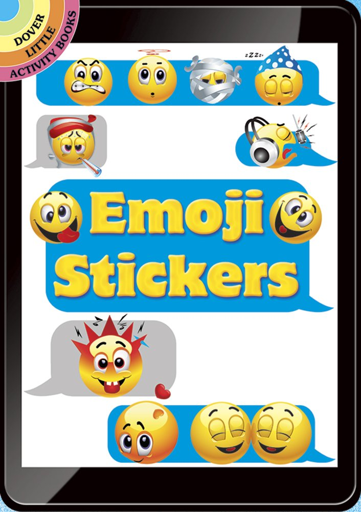 Emoji Stickers Dover Little Activity product image