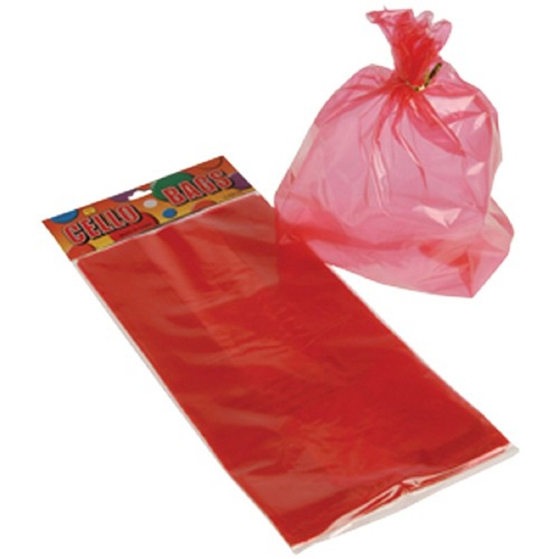Amazon.com: Docena de rojo bolsas de regalo de fiesta de ...