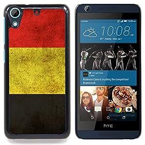 """Qstar Arte & diseño plástico duro Fundas Cover Cubre Hard Case Cover para HTC Desire 626 (Alemania Alemán Bandera del Grunge"""")"""