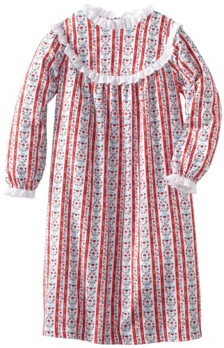 Lanz of Salzburg Big Girls'Tyrolean Gown, Red, X-Large