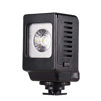 Bulufree Mini LED Lámpara de luz de Relleno Montaje en Zapata fría ...