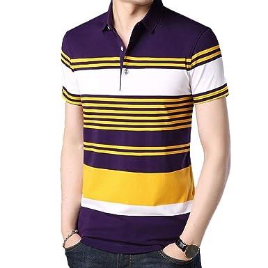 Lannister Fashion Camisa De Polo para Hombre De Manga Corta Retro ...