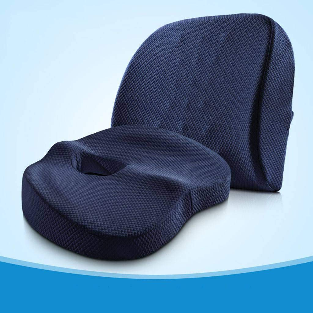 Seat Cushions Chair Cushion Chair Pads Cushion Pillow Memory Foam,Orthopedic Ergonomically Relieve Back, Sciatica, Coccyx and Tailbone Pain Office Chair-9