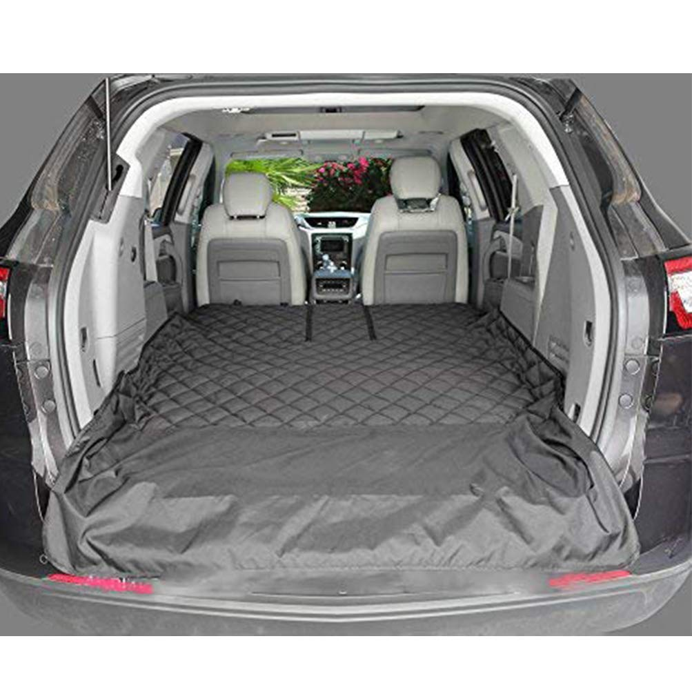Pet Car Seat Cover with Seat Anchors for Trucks, and SUV, Waterproof PetsTravel Hammock with Side Flaps (52 inch 82inch)