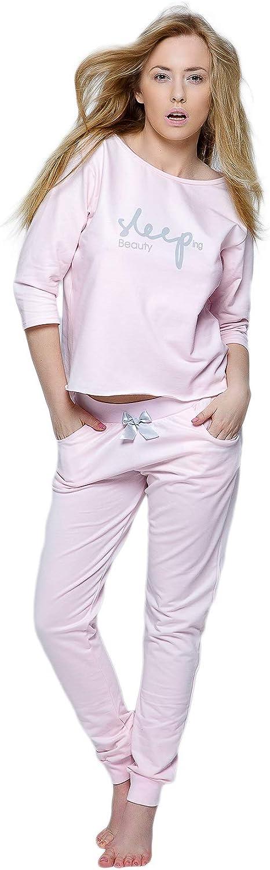 Manga 3//4 Pijama para Mujer Sensis