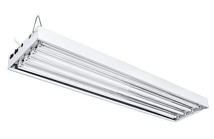 Amazon.com : iPower T5 4-Feet 4 Lamp 6400K Fluorescent Ho Tube Grow ...