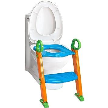 Amazon.com: Potty Trainer silla asiento de inodoro con ...