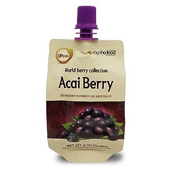 Chunho Food 100% Natural Acai Berry Juice (Pack of 30)