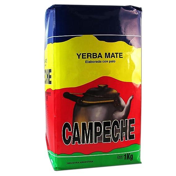 Yerba mate Campeche 1Kg: Amazon.es: Alimentación y bebidas