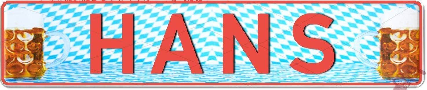 Autoschild mit Namen /& Spruch selbst gestalten und gepr/ägt Aluschild ✓ Kfz-Kennzeichen-Schilder ✓ Aluminium-Schild Nummernschild zum Selbstgestalten und bedruckt ✓ Individuelles Namensschild