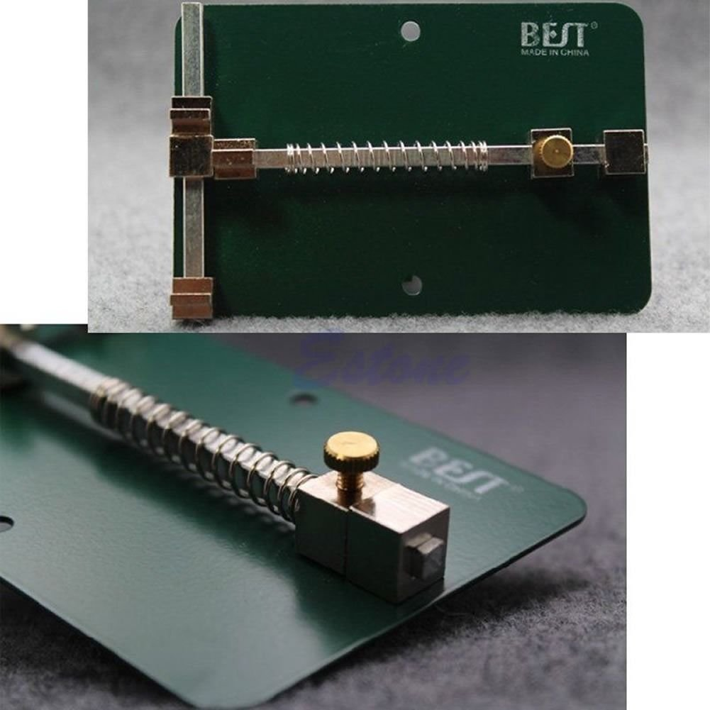Universal Pcb Holder Fixtures Mobile Phone Repairing Soldering Iron Metal Circuit Board Repair Tool For Rework Industrial Scientific