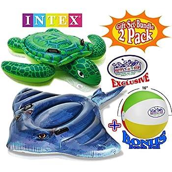Amazon Com Intex Realistic Print Sea Turtle Inflatable