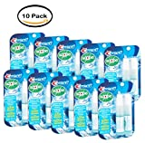 PACK OF 10 - Scope Outlast Long Lasting Peppermint Breath Mist, 0.24 fl oz, (2 count)