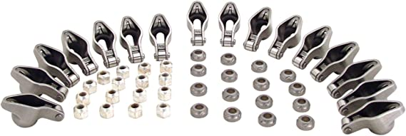 Sportsman Roller Tip Rocker Arms for Small Block Chevy 262-400 1.5 Ratio for 7//16