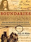 Boundaries, Sally M. Walker, 0763656127