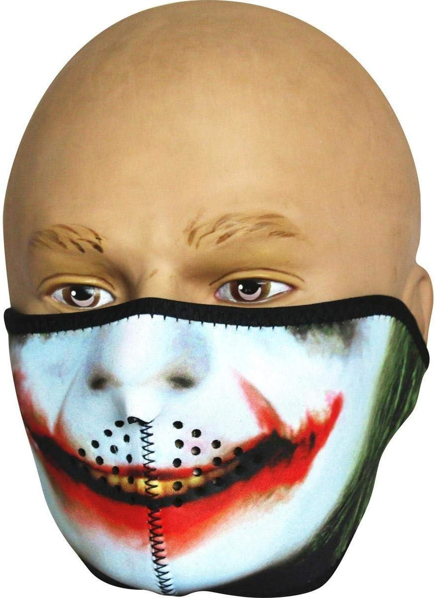 Viper TACTICAL - Máscara Deportiva de Neopreno - para la Zona Inferior de la Cara - Joker