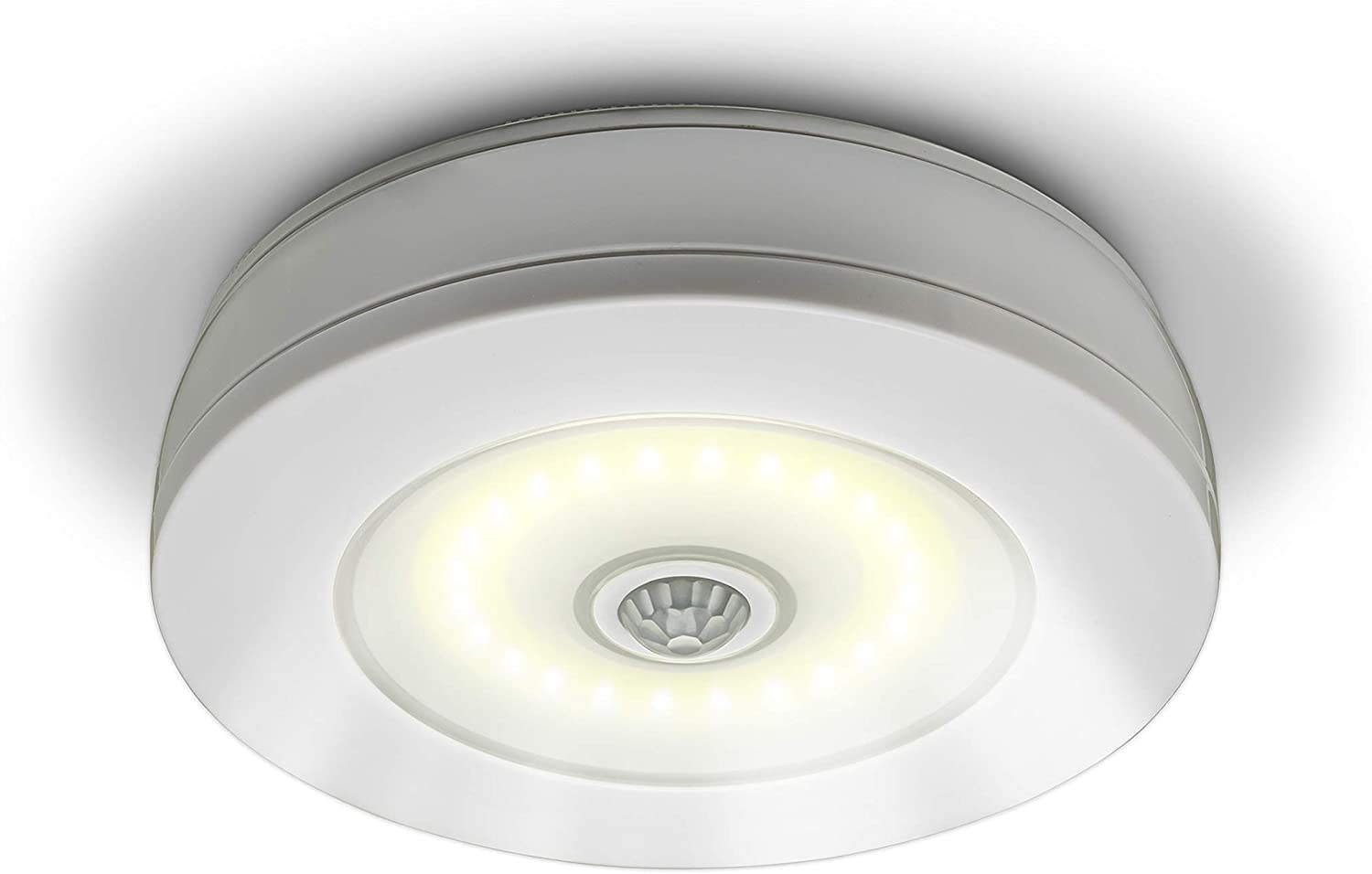 Sensor Brite Overlite Wireless Motion Activated Ceiling Wall Led Light Stick Anywhere Battery Operated Overhead Light Close To Ceiling Lights Amazon Canada