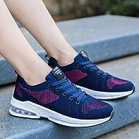 黄贝玲 女鞋运动鞋女网面春季新款韩版百搭休闲透气跑步鞋气垫旅游鞋
