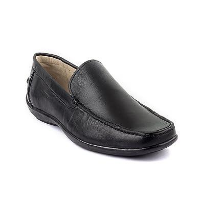 e07696ccee Woodland Leather Men's Black formal Shoes-Uk-8: Buy Online at Low ...