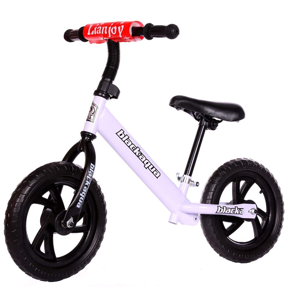 Biciclette senza pedali La Corsa dei Bambini dei Bambini del Metallo di addestramento della Bicicletta della Bici della Bici dell'equilibrio dei Bambini Leggeri della Bici di Sicurezza (colore   A)