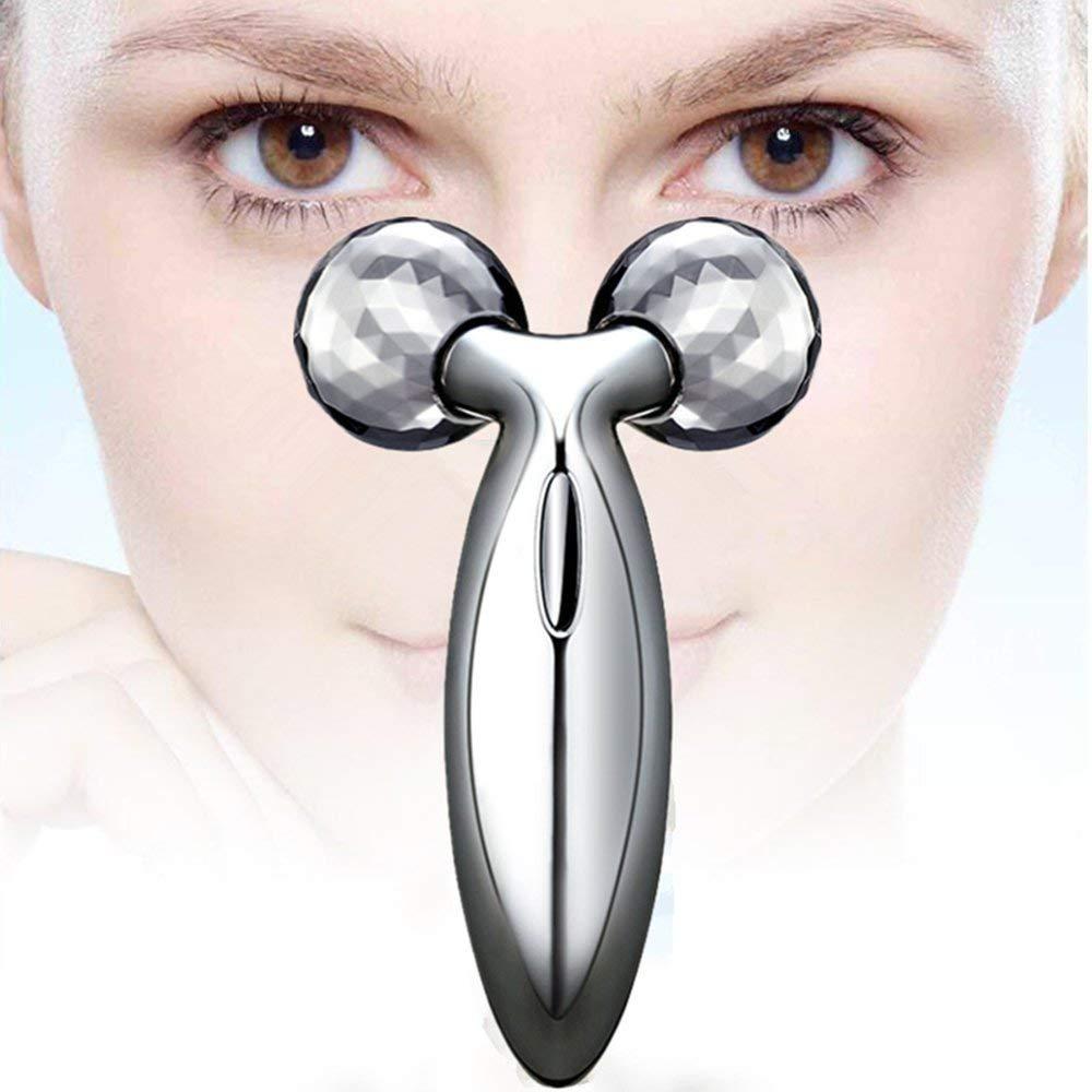JIAHAO 3D Roller Beauty Bar Facial Massager, Face Lift Tool Facial Bar Firming Beauty Massage Body Face Massager DANGSHAN-3D Skin Care