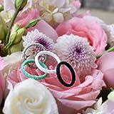 Mokani Silicone Wedding Ring for Women, 4 Packs