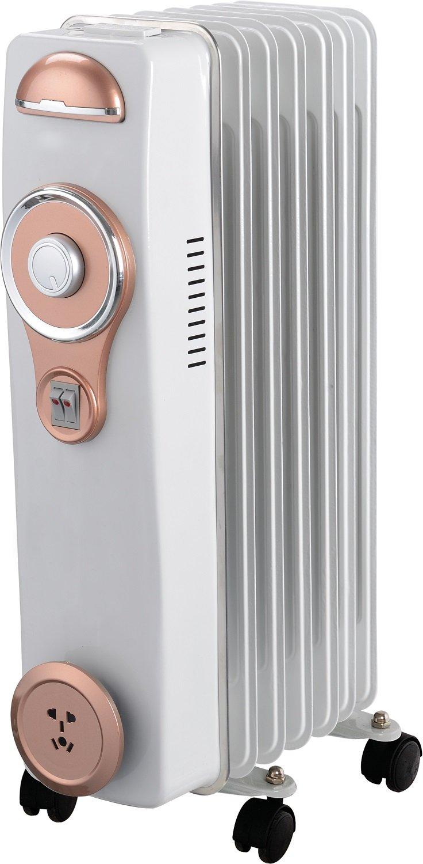 Alexa A6RA1500HB - Radiador de aceite con 7 elementos, 1500 W: Amazon.es: Hogar