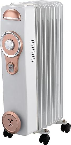 Alexa A6RA1500HB - Radiador de aceite con 7 elementos, 1500 W