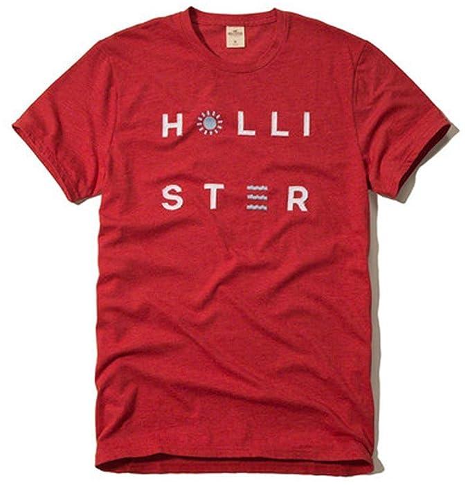 Hollister para Hombre Graphic Logo tee Camiseta