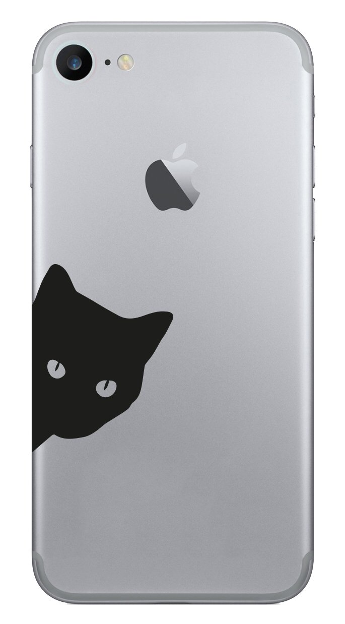Cat Katze 3 Apple iPhone Smartphone Handy Aufkleber Skin Decal ...