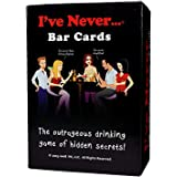 I've Never Bar Cards: Party Game for College Students Fraternities Sororities Bachelor Bachelorette 21st Birthday…