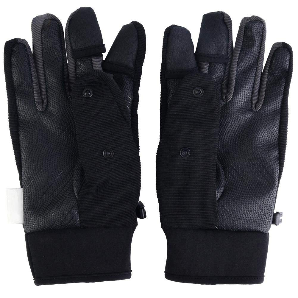 Photography Gloves, Waterproof PGYTECH Model Airplane RC Remote Control Screen Display Gloves Warm Breathable Liner (M)