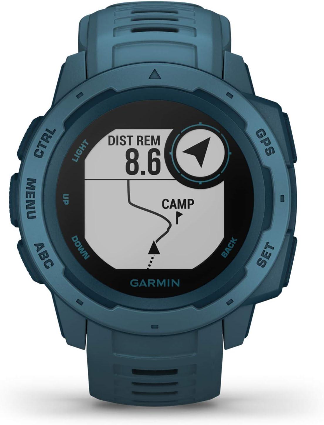 Garmin Instinct Wasserdichte Gps Smartwatch Mit Sport Elektronik