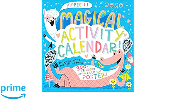 Jps Calendar 2020 Amazon.com: Magical Activity Wall Calendar 2020 (9781523507993
