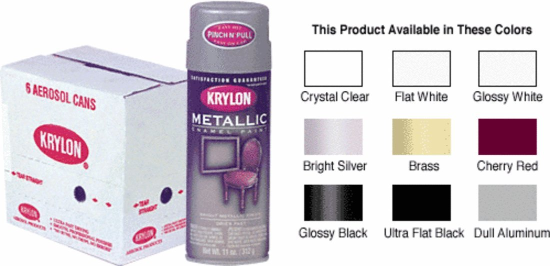 Dull Aluminum Krylon Spray Paint
