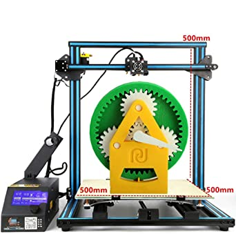 3KG PLA + Original Creality CR10-S5 3D Printer 500x500x500mm