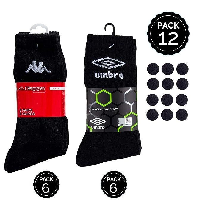 Umbro Set 12P Calcetines - Negro No Aplica Hombre: Amazon.es: Ropa y accesorios