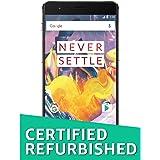 (Certified REFURBISHED) OnePlus 3T (Gunmetal, 64GB)