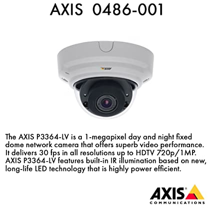 New Drivers: AXIS P3364-LV Network Camera