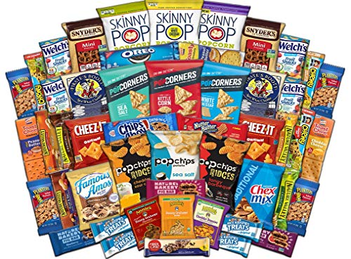 Ultimate Snack Assortment Care Package - Chips, Crackers, Cookies, Nuts, Bars - School, Work, Military or Home (50 Pack) by Custom Treats (Image #4)