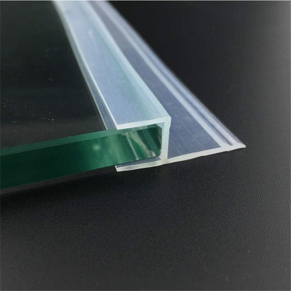 6 8 10 12 mm Sellos de vidrio Puerta de ducha sin marco Ventana ...
