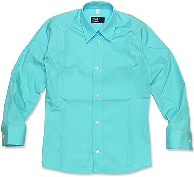 Cordes&Heseler - Camisa - Básico - para niño Turquesa Turquesa: Amazon.es: Ropa y accesorios