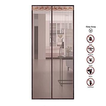db153a361137d YUNGUANG Cryptage Mosquito Rideaux Velcro Partition Rideaux Anti-Moustique  Magnétique Écran Souple Porte Écrans D