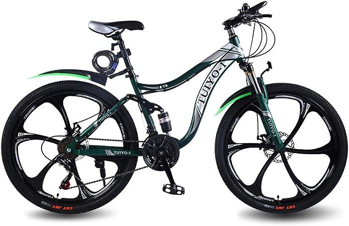 KVIONE T9 Bicicleta de montaña para Mujeres y Hombres MTB ...