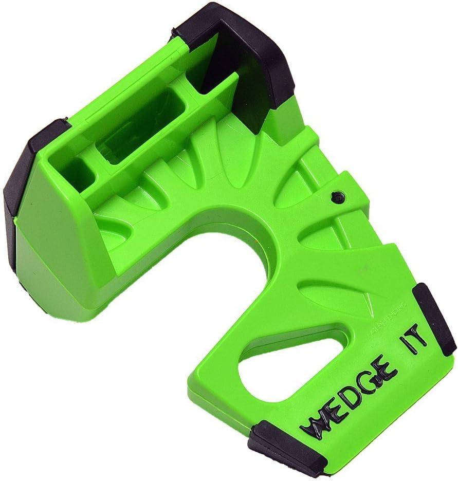 TWO PACK by Wedge-It Black The Ultimate Door Stop Wedge-It