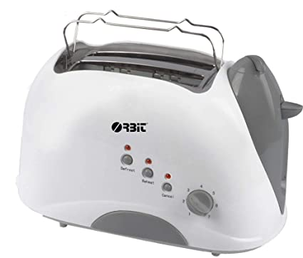 Orbit Titon Toaster 2 Slice Pop Up Toaster