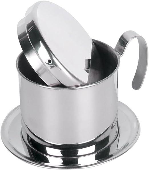 Filtro de acero inoxidable superior para cafetera Vietnam con una ...