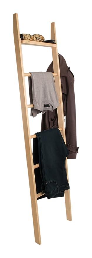 Arredamenti Italia Perchero-toallero Axel, Madera - de Pared - Color: Natural Ar-It il Cuore del Legno